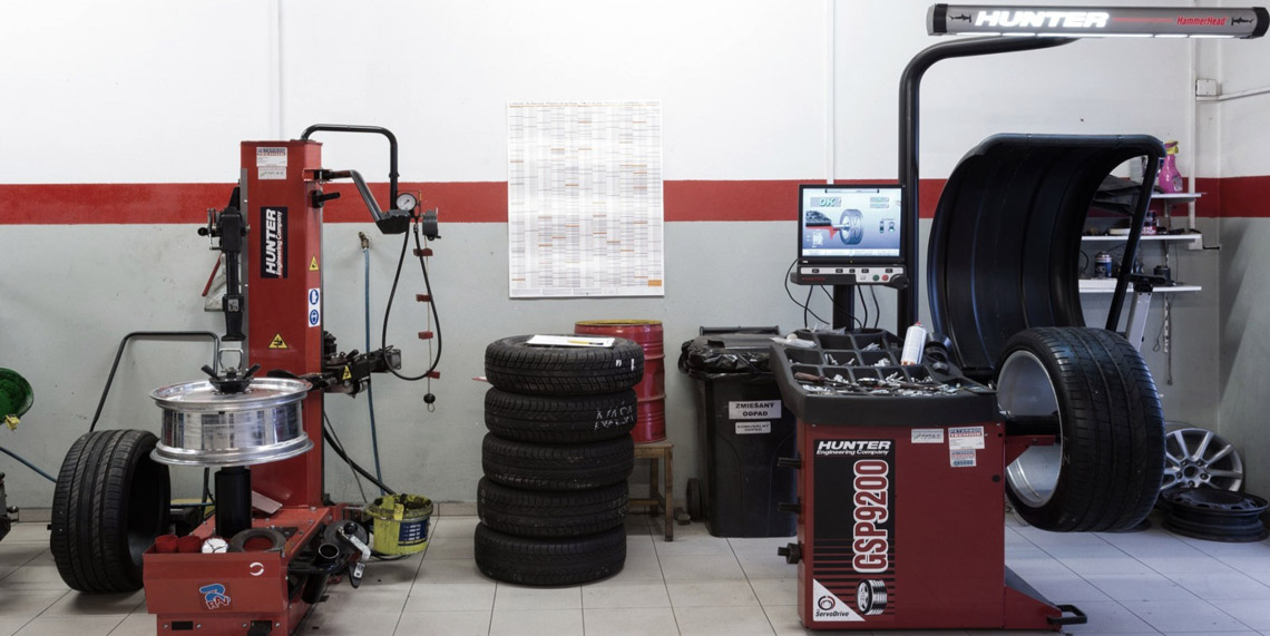 Najmodernejšia technika, nie len v pneuservise